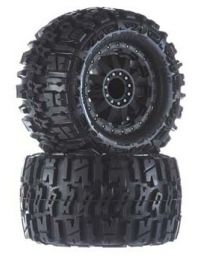 "1/10 Trencher 2.8"" All Terrain Tires Mounted"