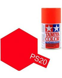 PS-20 Fluorescent Red Spray - 3,4oz/100ml