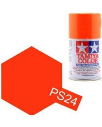 PS-24 Fluorescent Orange Spray - 3,4oz/100ml