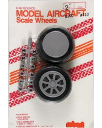 "SCALE WHEELS 2"" ST TREAD"