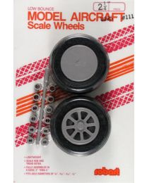 SCALE WHEELS 2-1/4 S TREAD