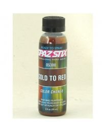 COLOR CHANGING PAINT GOLD TO RED 2OZ