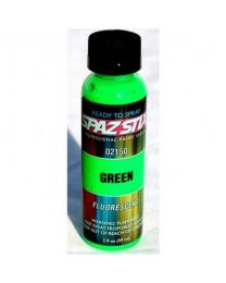 GREEN FLUORESCENT AIRBRUSH PAINT 2OZ