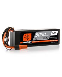 5000mAh 4S 14.8V 50C Smart LiPo Hardcase; IC5