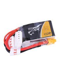 450mAh 3S1P 11.1V 75C LiPo XT30 Plug Soft Case