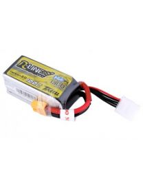 1300MAH 100C 4S1P HV LIPO WITH XT60 - Racing Line 2.0
