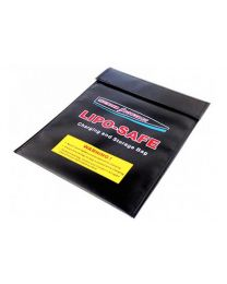 LIPO-SAFE Charging & Storage Bag, Lg Black 9 x 12""