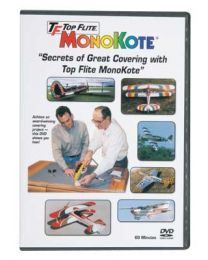 Top Flite MONOKOTE COVERING INSTRUCT DVD