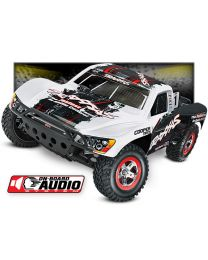 1/10 Traxxas Slash 2WD RTR Electric Short Course Truck White with Onboard Audio