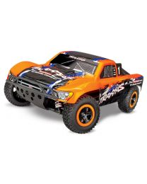 1/10 Traxxas Slash 4X4 Brushless 4WD RTR Short Course Truck Orange