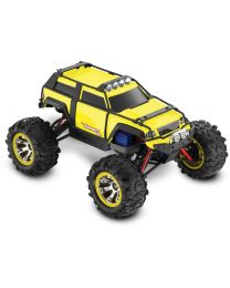 Summit VXL: 1/16-Scale 4WD Electric Extreme Terrain Yellow