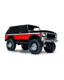 1/10 TRX-4 79 Ford Bronco Crawler, XL-5 HV, Titan 12T Red