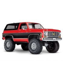 Traxxas TRX4 79 Chevy Blazer 1/10 Crawler, Red