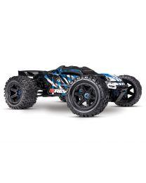 1/10 E-Revo 2 VXL Brushless: 4WD Brushless Electric M Truck - Blue