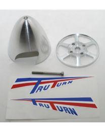 """3-1/2\"""" P-51 Menz Cut Spinner:DA50"""