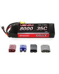 35C 2S 8000mAh 7.4V LiPo  : UNI 2.0 Plug