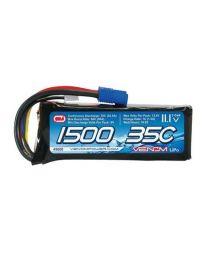 Marine 35C 11.1V 1500mAh 3S LiPo Battery :EC3 Plug