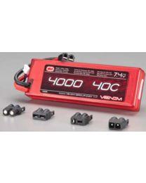 LiPo 2S 7.4V 4000mAh 40C Sport Power Univ Plug