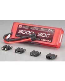 LiPo 2S 7.4V 5000mAh 50C Sport Power Univ Plug
