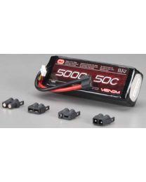LiPo 3S 11.1V 5000mAh 50C Univ Plug System