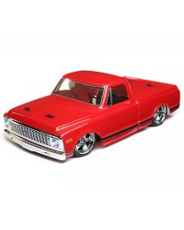 1/10 1972 Chevy C10 Pickup Trk V-100S,RED:4WD RTR