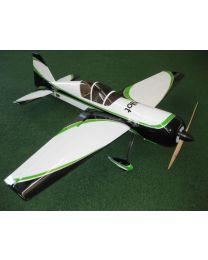 "YAK54 50CC 87"" CF White/Black/Green (01)"