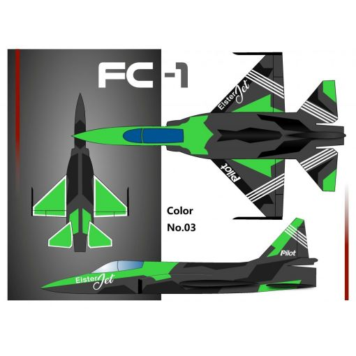 3,0m FC1 Jet Basic Plus - Color 03