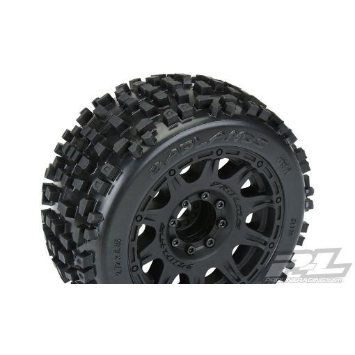 Badlands 3.8 inch MTD Raid 8x32 Wheels 17mm MT F/R