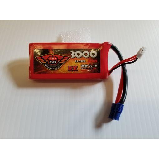 3000-15C-2S - Rx LiPo - 7,4V