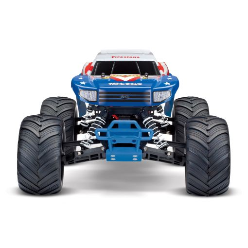 1/10 Bigfoot 2WD Monster Truck - Red, White & Blue