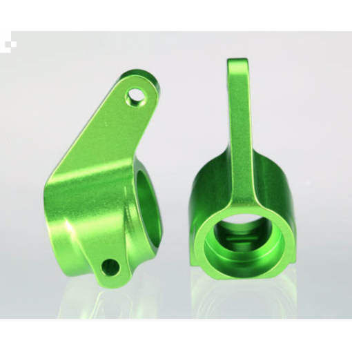 Traxxas Aluminum Steering Blocks w/Ball Bearings (Green) (2)