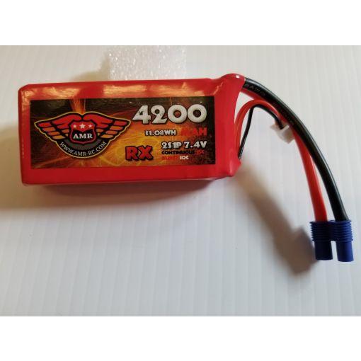 4200-15C-2S - Rx LiPo - 7,4V