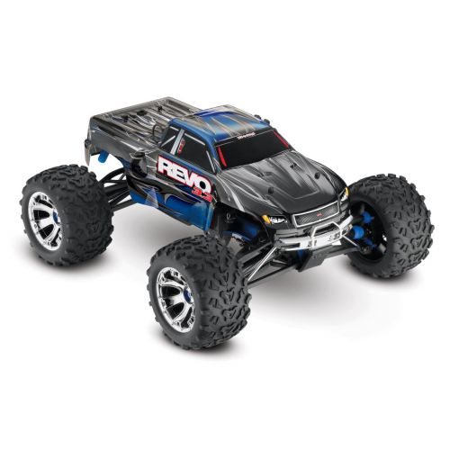 1/10 Revo 3.3 4WD Nitro Truck  RTR w/ TSM; Blue