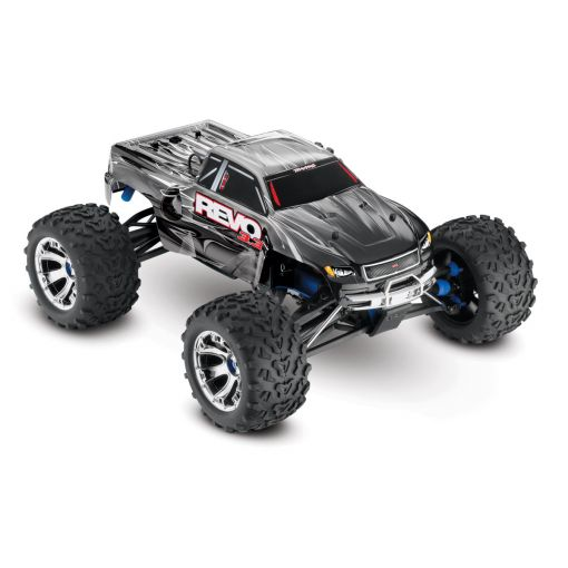 1/10 Revo 3.3 4WD Nitro Truck  RTR w/ TSM; Silver