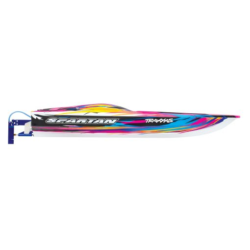 """Traxxas Spartan Brushless 36"""" Race Boat, Pink"""