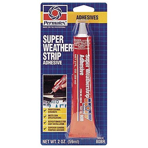 Yellow Super Weatherstrip Adhesive - 80BR (59ml)