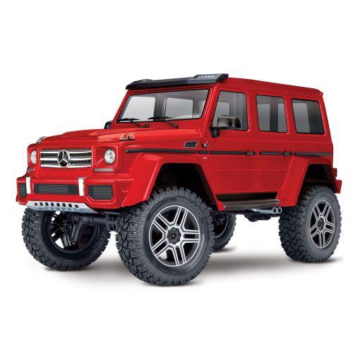 1/10 TRX-4 Mercedes G 500 4X4 Crawler, XL-5 HV, Titan 12T (RED)