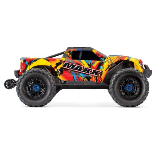 1/10 Maxx with 4S ESC - Solar Flare 4WD Brushless