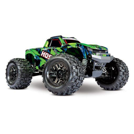 1/10 Hoss 4X4 VXL - Green & Blue 4WD Brushless M-Truck