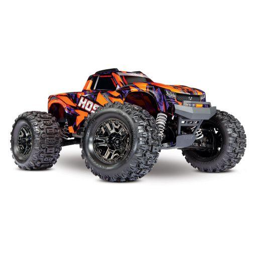 1/10 Hoss 4X4 VXL - Orange/Purple 4WD Brushless M-Truck
