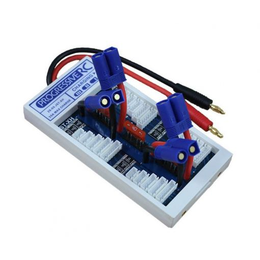 Safe Parallel Charge Board for 2 to 6S JST-XH & EC5