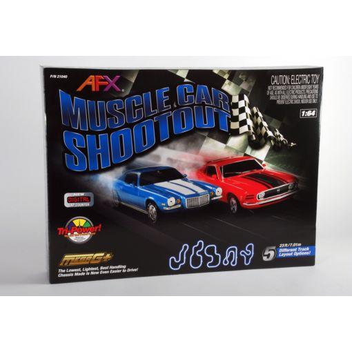 Muscle Car Shootout, w/Lap Counter, Mustang/Camaro
