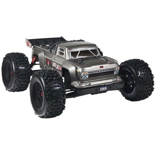 1/8 Outcast 6S 4WD BLX Stunt Truck Silver
