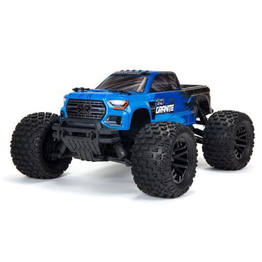 1/10 GRANITE V3B 4X4 MEGA Brushed Monster Truck RTR, Blue