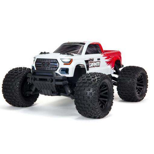 1/10 GRANITE V3B 4X4 MEGA Brushed Monster Truck RTR, Red
