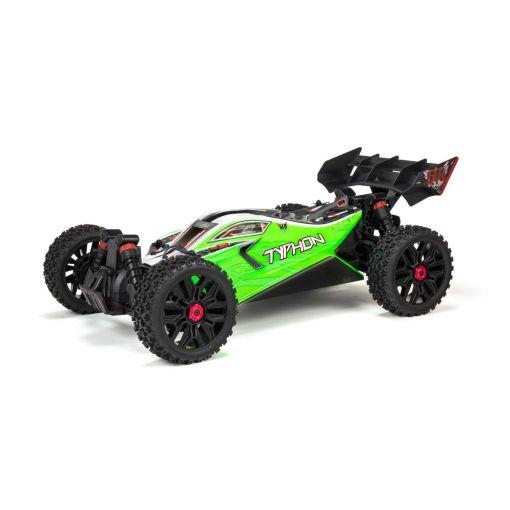1/8 TYPHON V3B 4X4 550 MEGA Brushed Buggy RTR, Green