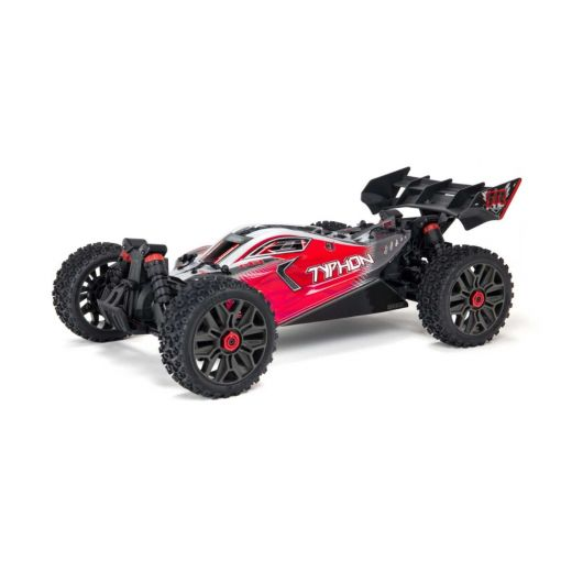 1/8 TYPHON-V3B 4X4 3S BLX Brushless 4wd Buggy Red