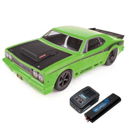 1/10 DR10 Drag Race Car RTR LiPo Combo: Green