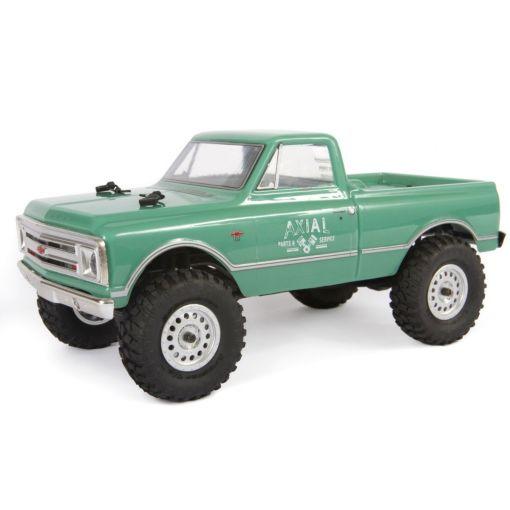 1/24 SCX24 1967 Chevrolet C10 4WD-RTR, Light Green