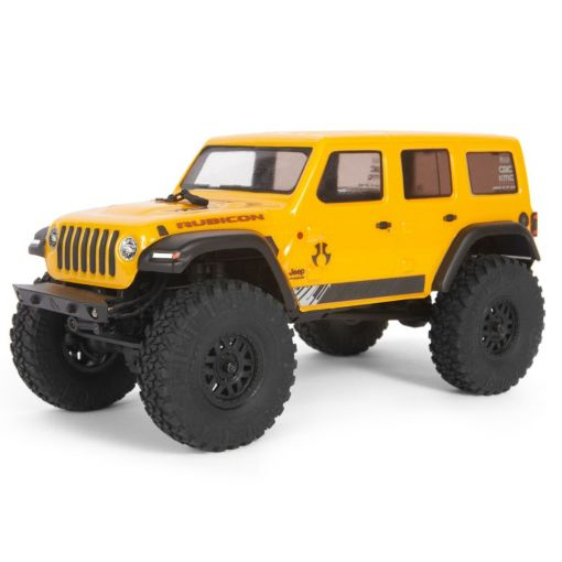 1/24 SCX24 2019 Jeep Wrangler JLU CRC 4WD-RTR YEL